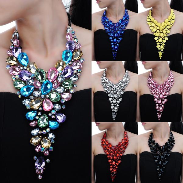 Choker, bijouxwomen, Gifts, chokerbibnecklace