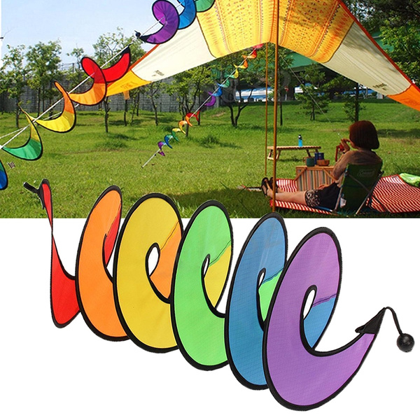 windmill, rainbow, Garden, Colorful