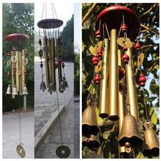 Home Decor, Bell, windchime, bronzebell