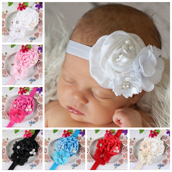 babyheadband, ruffle, Elastic, headwear