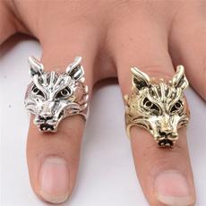King, animalring, Gifts, wolfring