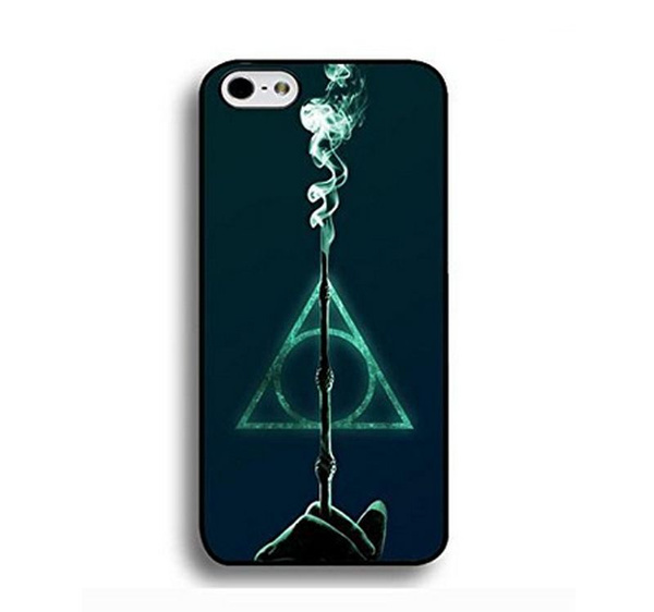 GRAPHICS /& MORE Harry Potter Deathly Hallows Logo Mobile Cell Phone Headphone Jack Oval Charm fits iPhone iPod Galaxy