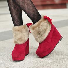Shorts, fur, knightboot, Winter