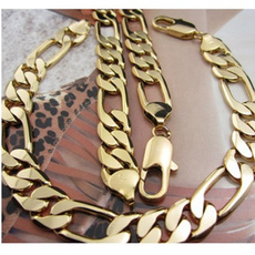 yellow gold, Chain Necklace, Gifts For Men, Gifts