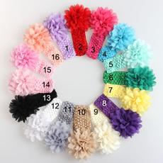 chiffonflower, babyheadband, chiffon, Gifts