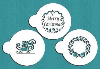 Beautiful, caketool, Christmas, Pattern