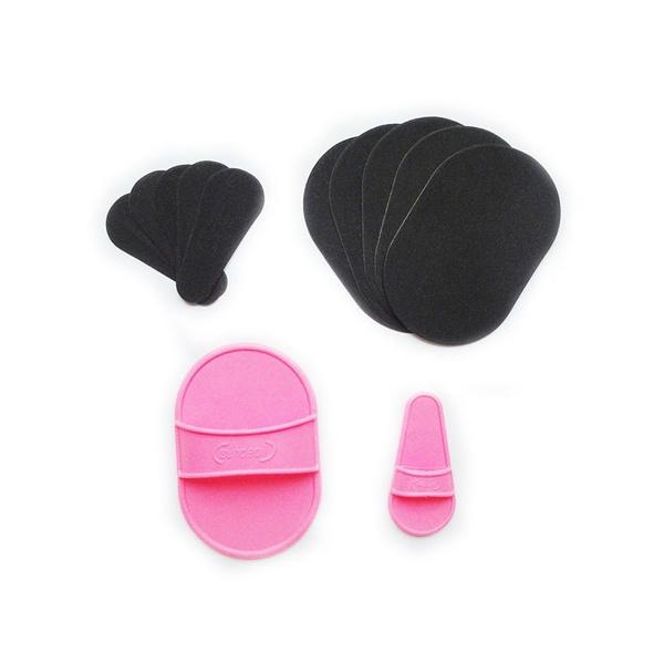 Fashion, exfoliator, hairremoval, smoothpad
