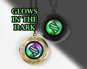 Dark, Jewelry, pokemonglowinthedarknecklace, pokemonlocketnecklace
