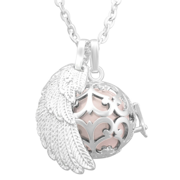chimenecklace, angelcallerchainnecklace, Jewelry, ballpendantjewelry