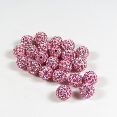 crystalbead, Rhinestone, Czech, ballspacerbead