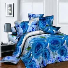 Blues, Sheets, Rose, Bedding