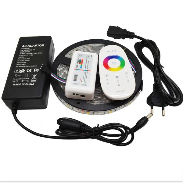 rgbwremotecontroller, rgbwledstrip, led, euacpoweradapter