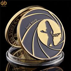 goldplatedcoin, jamesbond, modernsilver, silver