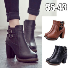 ankle boots, Fashion Accessory, high heeled, Winter