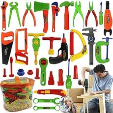 Boy, Toy, kidstool, repairtool