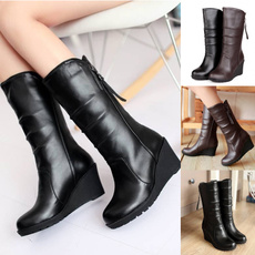 anklebootsforwomen, Flats shoes, long boots, womensbootsknight