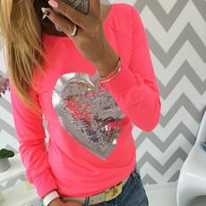 Polyester, Fashion, Shirt, Long Sleeve