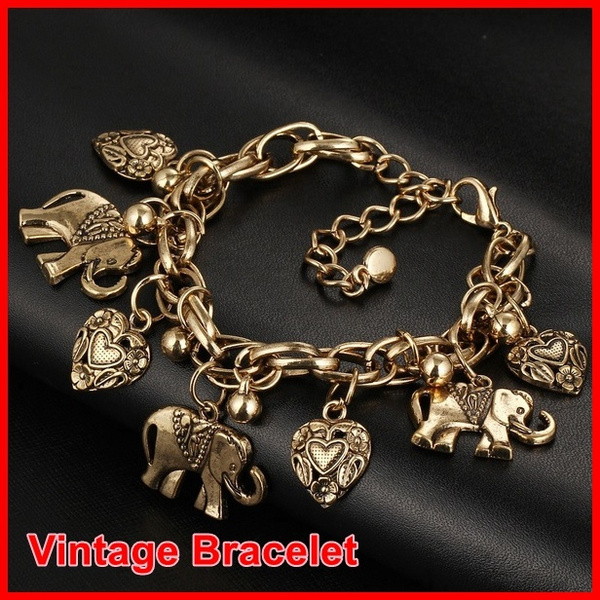Charm Bracelet, Heart, Romantic, Gifts