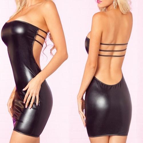 Underwear, clubwear, leather, Dress