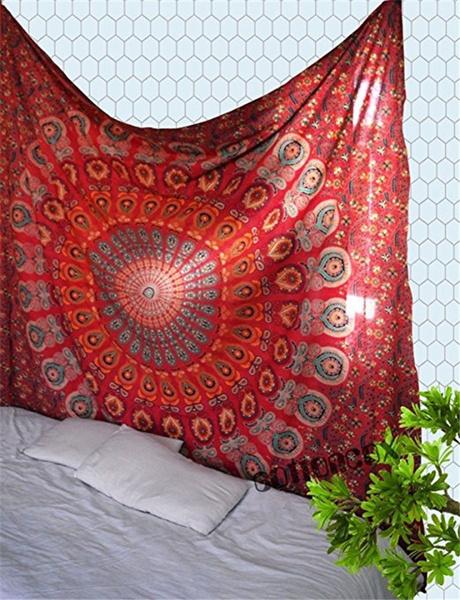 Summer, Decor, Towels, mandalatapestry