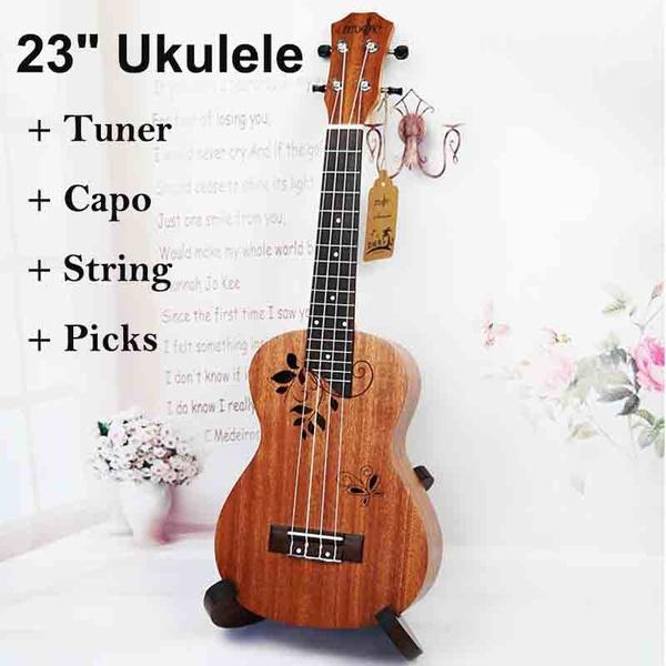 acousticukulele, Musical Instruments, rosette, ukulele