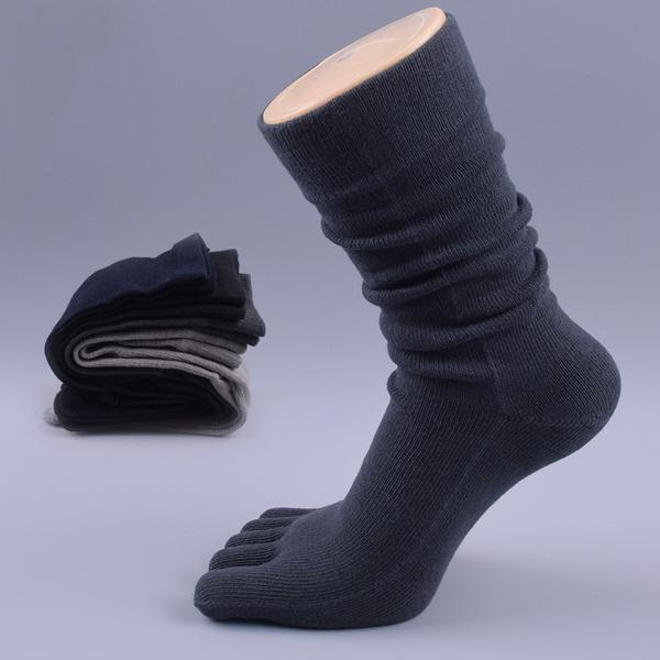 wintersock, Cotton Socks, fivefingerssock, 100cotton
