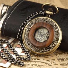 woodpocketwatch, Regalos, steampunkwatch, Vintage