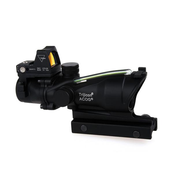riflescopesight, Fiber, Hunting, reddotsight