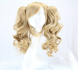 wig, Cosplay, Curly, long