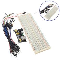 65pcsjumpercable, breadboardjumpercable, powersupplymodule, solderlessbreadboard