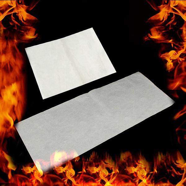 burnpaper, Magic, flashingpaper, selfburnpaper