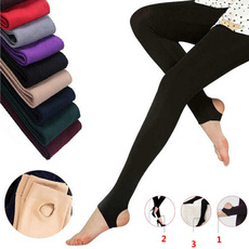 Leggings, Cotton, Winter, Casual pants
