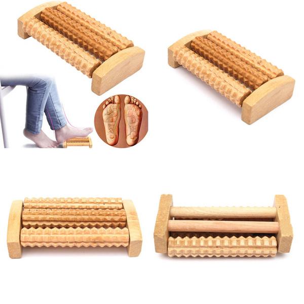 woodenfootroller, woodenfootmassageroller, woodenrollermassager, Wooden