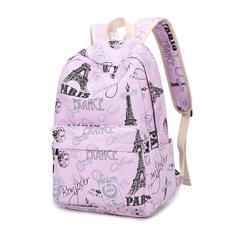 women's shoulder bags, School, Outdoor, Floral print