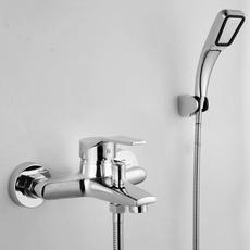 Shower, Bathroom, polished, chrome