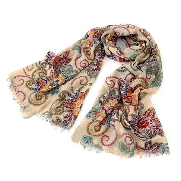Fashion, chiffon scarf, Necks, chiffon