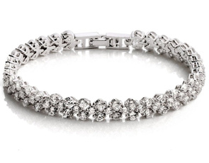 White Gold, goldplated, Bling, Jewelry