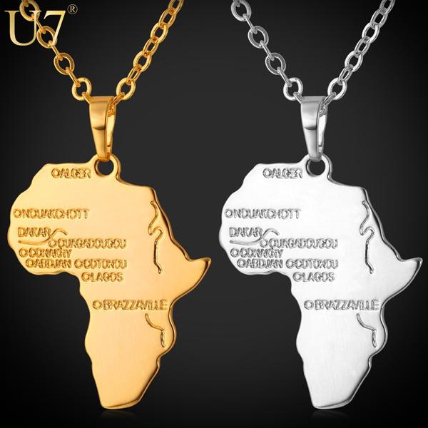 platinum, Map, Jewelry, gold