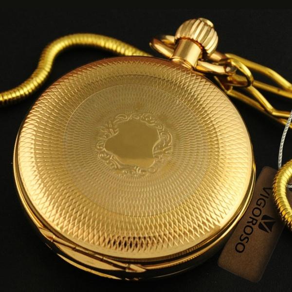 Pocket, automaticpocketwatch, selfwindingpocketwatch, gold