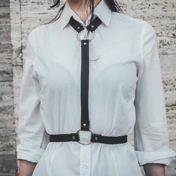 suspenders, designer belts, Harness, Jewelry