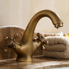 Brass, washroom, Bathroom, Vintage