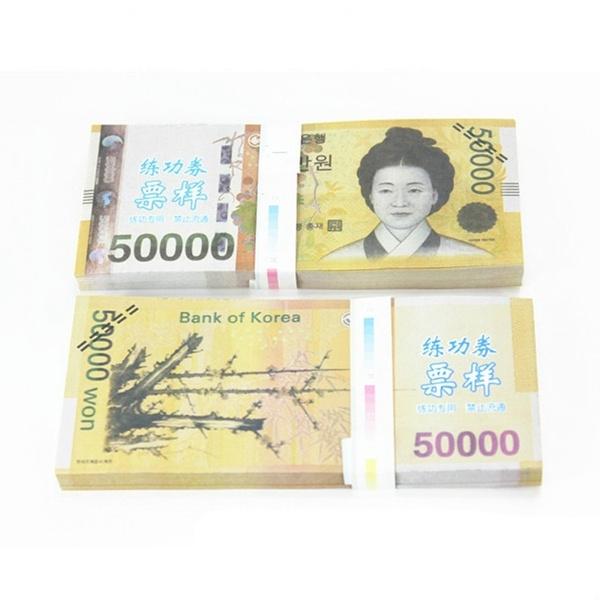 korea, papermoney, learningdollar, banknote