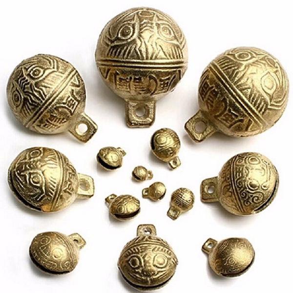Brass, petdogbell, bellsculpture, Pets