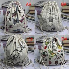 School, Fashion, Drawstring Bags, Christmas