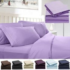 4pcsbedsheetset, doublebedsheet, Home textile, 1800threadcountsheet