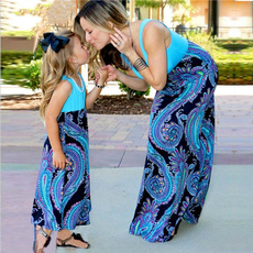 Summer, girls dress, Fashion, familymatchingoutfit