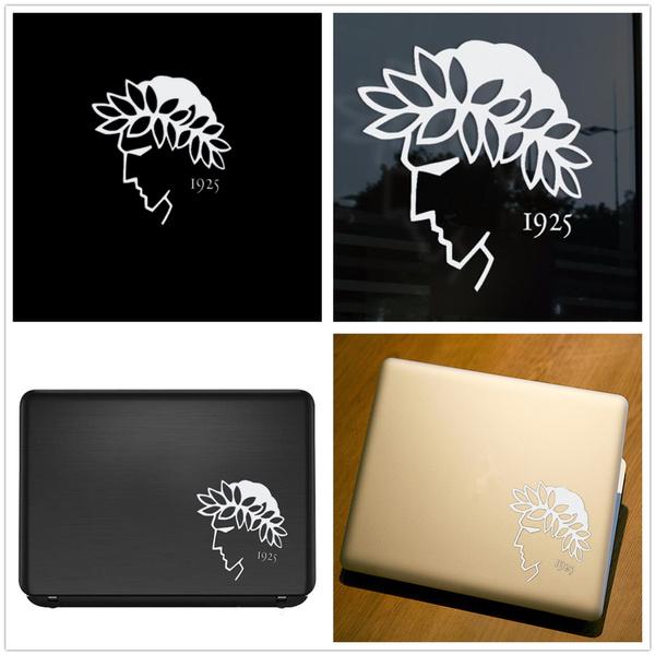Car Sticker, Emblem, Apple, Laptop