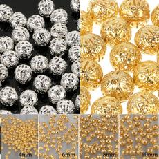 beadsforjewelrymaking, goldplated, spacebead, beadsforbracelet
