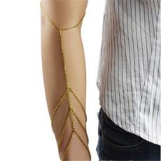 cuffarmband, golden, Jewelry, Chain