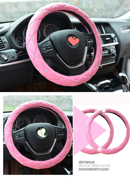 pink, vehicleaccessorie, girly, leather